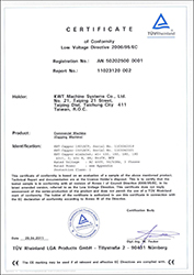 2011 CE Certificate for Labeler