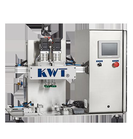 半自动侧旋式锁盖机 - KWT-130ST