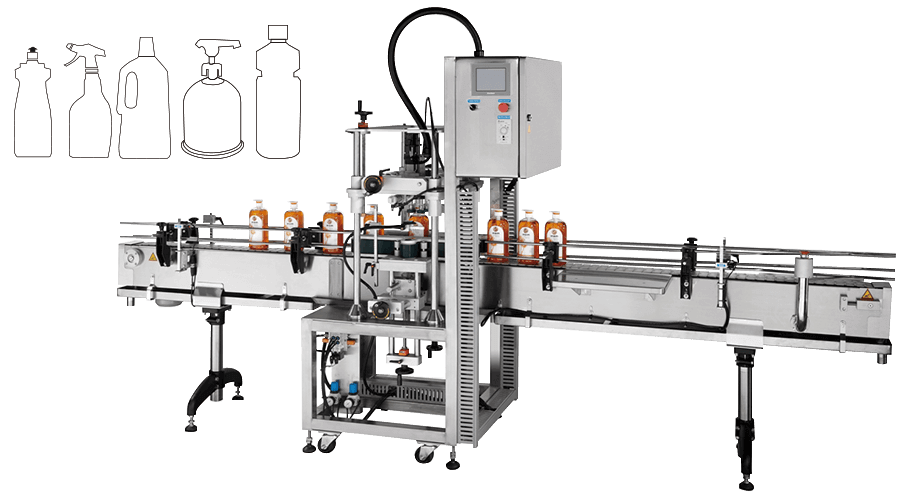 Side-Wrap Capping Machine - KWT-130