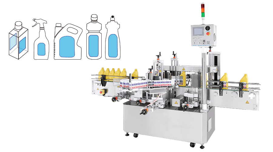 Front / Back Labeling Machine - KWT-620