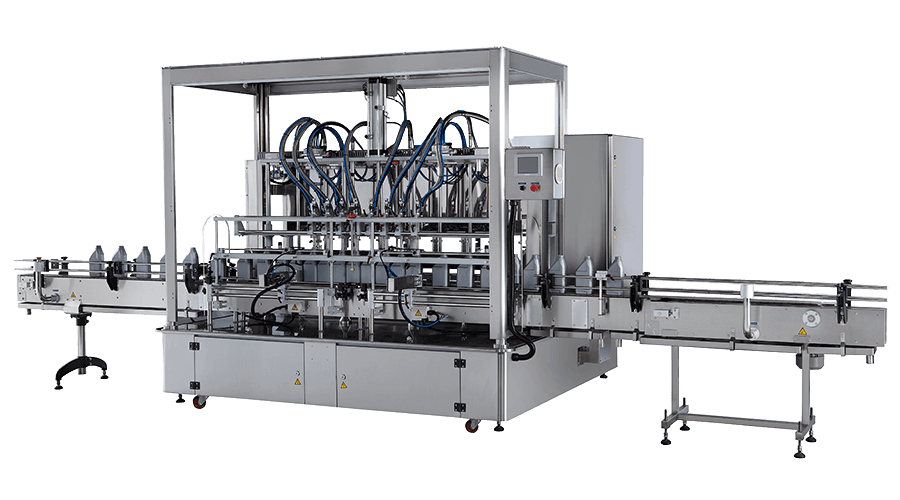 C-serials Automatic Lubricant Oil Filler Machine with Spiral Pump