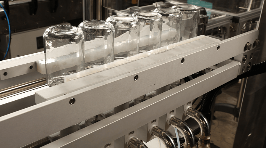 直線式洗瓶機