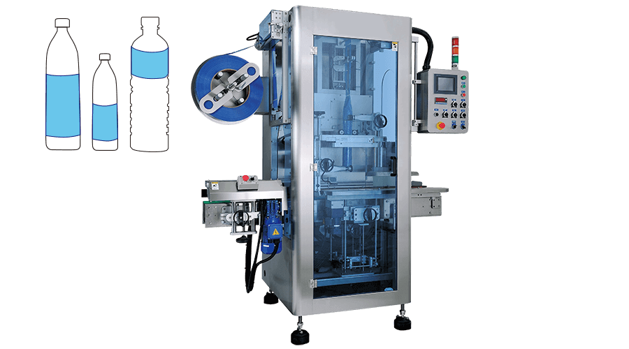 KWT-1500 Shrink-Sleeve Labelling Machine