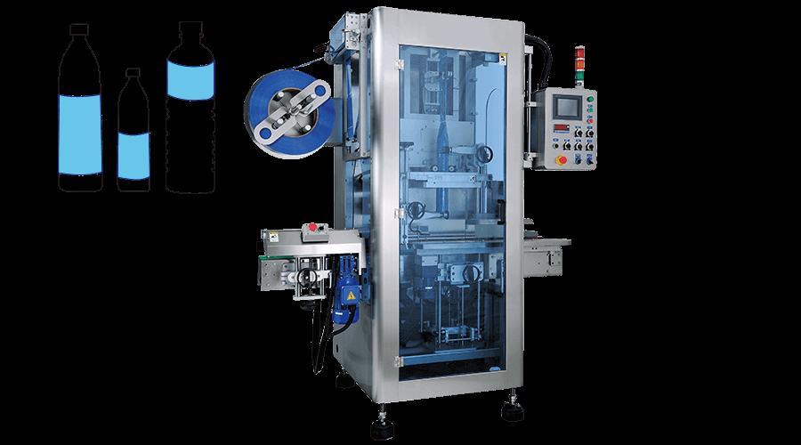 自動收縮膜套標機 - KWT-1500